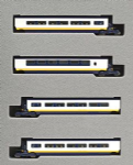 Kato 10-1296 Eurostar Coach Extension Set Classic Livery
